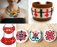 Traditional inspiration Bohemian Style, Polymer Clay, Traditional, Diy, Romania, Inspiration, March, Jewellery, Women