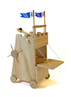 Medieval Siege Tower Wooden Kit | BuyMyThings