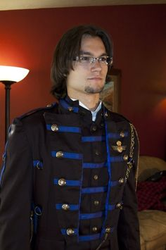 Steampunk Captain Kairnth