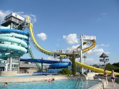 first water slide to go upside down
