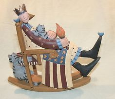 Old Rocking Chair Stock Photos and Images