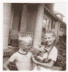 Sylvia Plath y su gato