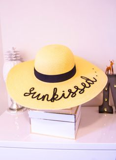 Sunkissed  sun hat gift idea by PANMILLI on Etsy