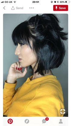 2019 short bob hairstyles and pixie haircuts.You are the best with Bob Hairstyles with fringe short hair with bangs 2019 For Women's - short hair 2019 Short Bob Haircuts, Short Hairstyles For Women, Pretty Hairstyles, Bob Hairstyles With Bangs, Short Fringe Hairstyles, Layer Haircuts, Haircut Short, Black Hairstyles, Short Hair With Bangs