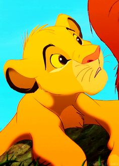Thinking you can sing like Simba.... Priceless!!!