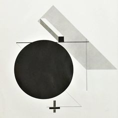 MOMA Photography of El Lissitzky Composition, circa 1950 | From a unique collection of antique and modern photography at https://www.1stdibs.com/furniture/wall-decorations/photography/
