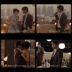 (500) Days of Summer / Expectations Vs. Reality