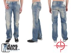 Fuga Jeans Cortez - Straight Leg - Regular Fit- Light Blue Used jetzt für nur 49.95 €