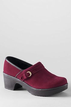 Women's Camden Clog Shoes from Lands' End