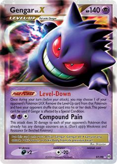 Gengar card! | Video Games | Pinterest | Pokémon and Video games