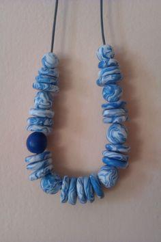Se vi piace questa #collana in #fimo visitate la mia pagina facebook If you like this #necklace in #fimo please look at http://chiaracreazioniinfimo.wordpress.com/