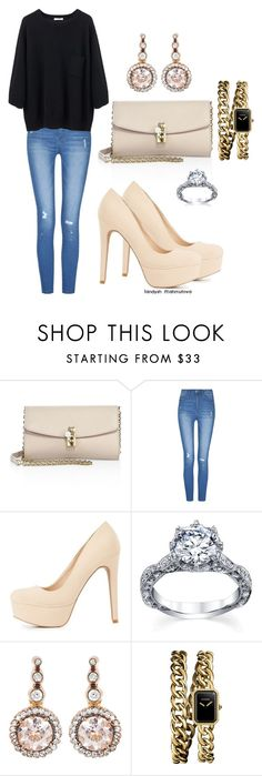"""""""стильный образ"""" by landysh-1425 ❤ liked on Polyvore featuring Dolce&Gabbana, Charlotte Russe, Selim Mouzannar and Chanel"""