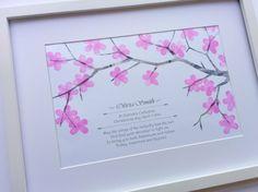 fingerabdruck bilder frühling-rosa-blüten-baum-hochzeit-geburt