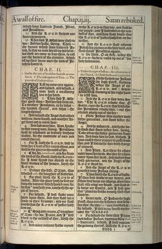 Zechariah Chapter 1 Original 1611 Bible Scan, courtesy of Rare Book and Manuscript Library, University of Pennsylvania