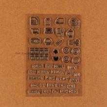 Planificador diario sellos claro bala planearlo sello fijado para el planificador diario sellos(China)