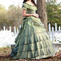 1840's ball gown - Google Search
