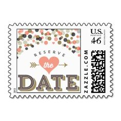 Fête - Save the Date Postage