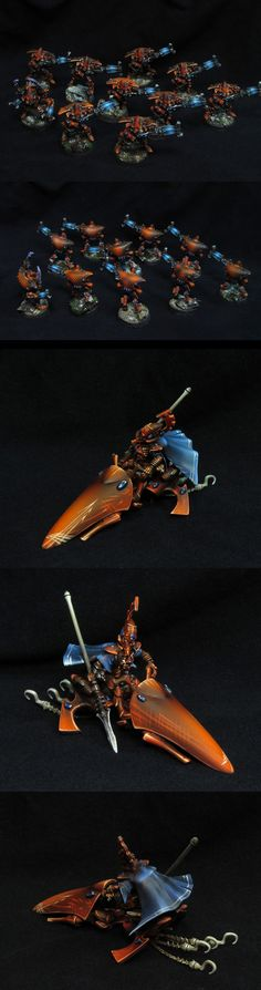 Eldar Farseer and Warp Spiders
