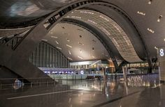 MAIN TERMINAL, HAMAD INTERNATIONAL AIRPORT - Doha, Qatar