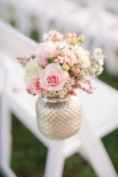 Gorgeous ceremony flowers: http://www.stylemepretty.com/little-black-book-blog/2015/04/10/romantic-summer-wedding-at-pippin-hill-farm-vineyards/ | Photography: Katelyn James - http://katelynjames.com/