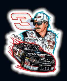 The intimidator, The Man in Black, The Great of Nascar of all time!