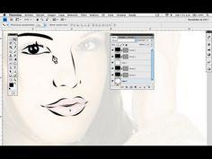 Render e Ilustración - Line Art