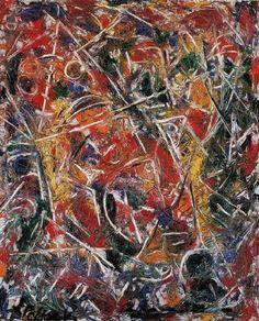 © Paul Jackson Pollock - Movimento gracidante (1946)