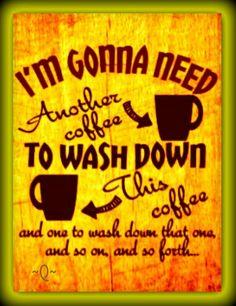 I'd like some coffee with my coffee, please. Joe Coffee, Coffee Meme, Coffee Talk, Coffee Is Life, I Love Coffee, Coffee Quotes, Best Coffee, Funny Coffee, Coffee Lovers