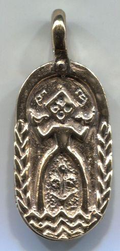 Mokosh  pendant ~ Goddess of fertility, water & women in old Slavic mythology.