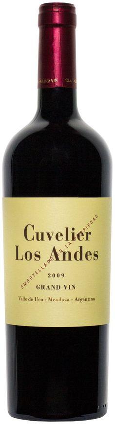 """""""Grand Vin"""" 70% Malbe / 10% Merlot / 10% Cabernet Sauvignon / 5% Syrah /  5% Petit Verdot 2012 - Bodega Cuvelier Los Andes, Tunuyán, Mendoza-------------------Terroir: Vista Flores (Tunuyán)---------Crianza: 18 meses en barricas de roble francés"""