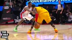 Kyrie Irving, the starting Point Guard for the Cleveland Cavaliers, makes Brandon Knight look silly while breaking his ankles.
