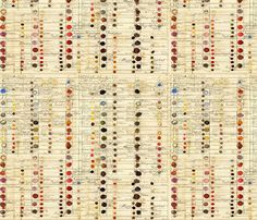 First ColorChart fabric by peagreengirl on Spoonflower - custom fabric