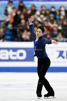 Daisuke Takahashi (JPN), .FEBRUARY 8, 2013 - Figure Skating : Daisuke Takahashi of Japan performs during the men's short program event at the ISU Four Continents Figure Skating Championships in Osaka, Japan. (Photo by AFLO)