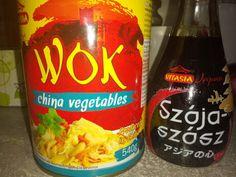 Kínai zöldséges tészta csirkemellel, gyors, megunhatatlan és nagyon finom! - Ketkes.com Beverages, Drinks, Arizona Tea, Wok, Drinking Tea, Meals, Canning, Recipes, Drinking