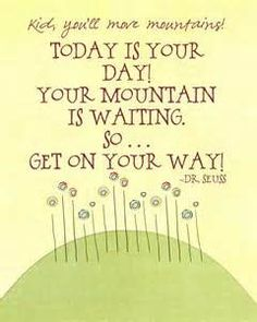 Image detail for -... Quotes: Journaling Solutions: Mar/Apr 2013, Dr. Seuss Inspired Quotes