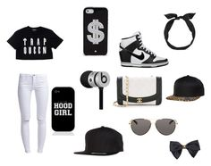 """""""1738 CASH MONEY"""" by raiderloverboo ❤ liked on Polyvore"""