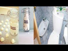 Bathroom Cleaning, Home Remedies, Mason Jars, Homemade, Youtube, Videos, Household Cleaners, Cleaning Hacks, Useful Life Hacks