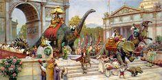 James Gurney: Illustration Dinotopia - Something to Cherish® - artwork, fashion, gift + home accessories created by illustrator Cherish Flieder Fantasy Artwork, Fantasy Kunst, Imagines, Fantastic Art, Jurassic Park, Fantasy World, Prehistoric, Oeuvre D'art, Illustrators