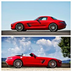 """Congratulations to both the SLS AMG Roadster & Coupé on winning the """"Auto Trophy 2012"""" for best cabriolet over € 30,000 and best super sports car. Thank you to the readers of """"Auto Zeitung""""!    SLS AMG Coupé and Roadster   Combined fuel consumption: 13.2l/100 km, CO2 emission: 308 g/km    #thebestornothing"""