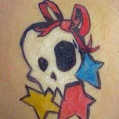 faux tattoo