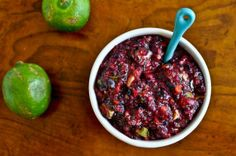 Blueberry-Lime Salsa | 56 Healthy Blueberry Recipes
