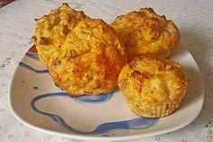 Schinken-Käse-Muffins Low Carb