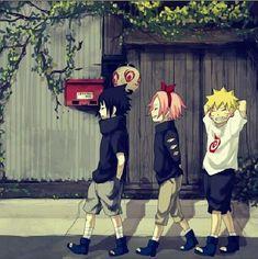 Team 7 | Sasuke | Sakura | Naruto