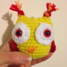 Du Fil et Des Aiguilles: Melissa la chouette - Tuto gratuit et en français Crochet Amigurumi, Diy Crochet, Crochet Hats, Magic Circle, Cute Nails, Origami, Crochet Patterns, Lily, Couture