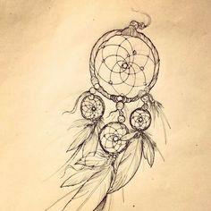 Afbeeldingsresultaat voor dromenvanger tattoo