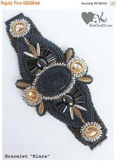 ON SALE beaded jewelrybeaded braceletbig by RebelSoulEK on Etsy