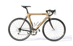 Bike made from wood
