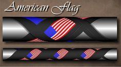 Americam Flag Cross Wrap Pattern step by step Custom Rod Building Cross Wrap Pattern Facebook Page