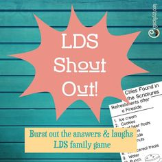 LDS Shout Out!