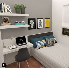 cool and stylish boy bedroom ideas you need to see! - cool and stylish boy bedroom ideas you need to see! – 33 Best Teenage Boy Room Decor Ideas an - Trendy Bedroom, Girls Bedroom, Diy Bedroom, Master Bedroom, Teenage Boy Bedrooms, Boys Bedroom Ideas Teenagers Small Spaces, Bedroom Rustic, Bedroom Storage, Bedroom Ideas For Small Rooms For Girls